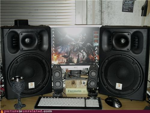 speakers,video games,wtf