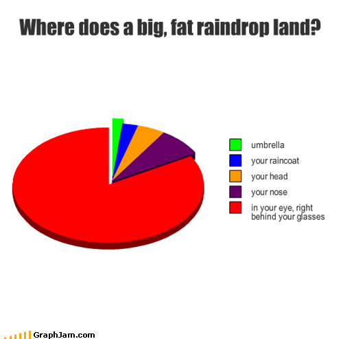 annoying,glasses,Pie Chart,rain