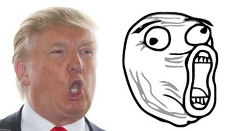 Donald Trump Totally Looks Like LOLFace