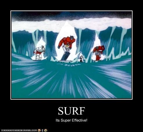 SURF Its Super Effective!