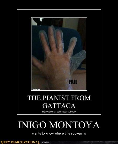 glove hilarious inigo montoya princess bride six fingers - 4700940544
