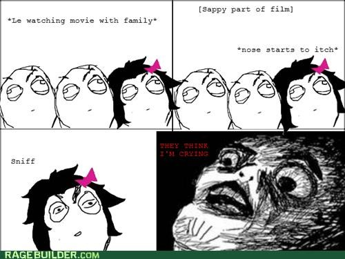 crying itch movies Rage Comics sappy - 4701277184