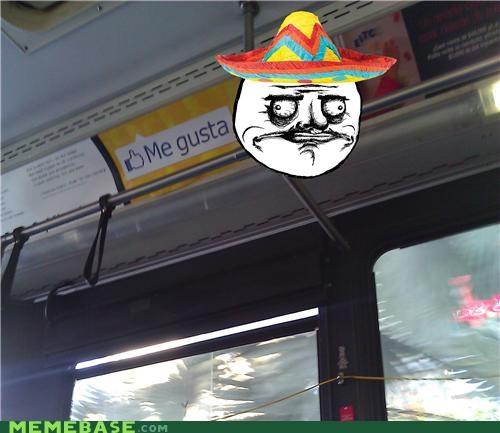 Ad,bus,me gusta,sombrero