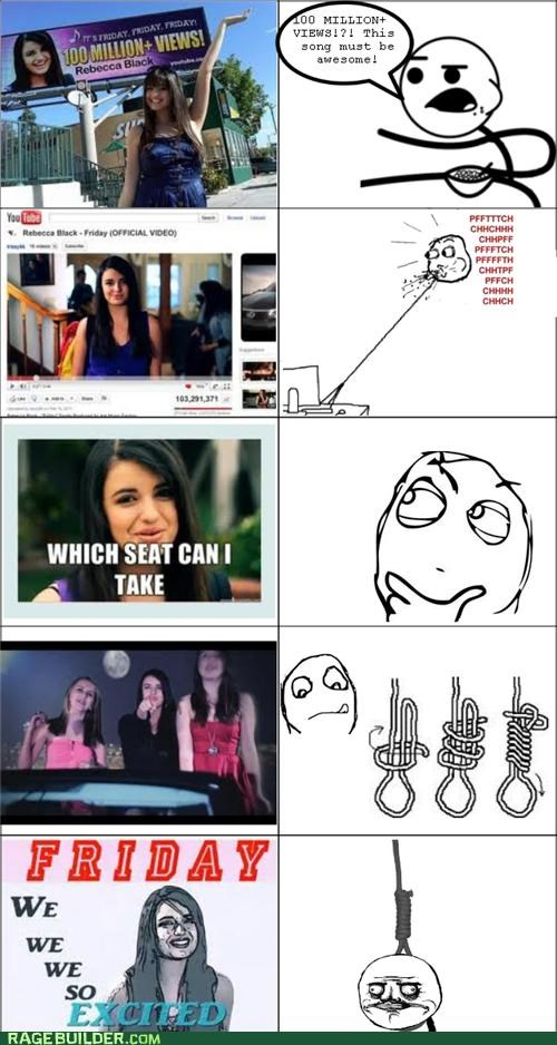 hanging,Rage Comics,Rebecca Black,story,true