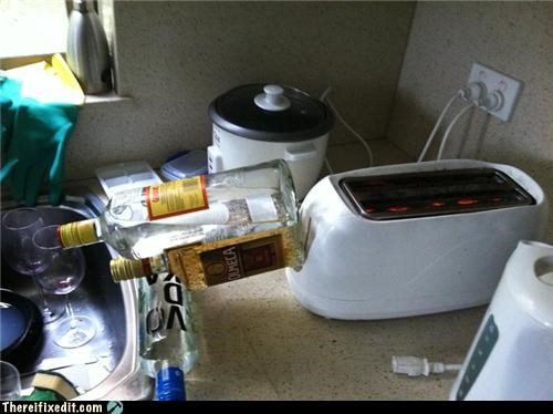 alcohol drinking dual use Obscure Reference toaster - 4701877248