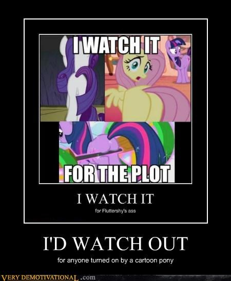 cartoons,my little pony,Terrifying,turned on,watch out