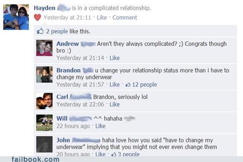 relationship status,TMI