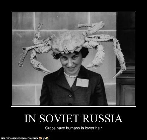 demotivational,fashion,funny,in soviet russia,lady,Photo,wtf
