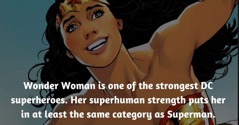 Collection of interesting facts about Wonder Woman to boost your trivia knowledge.