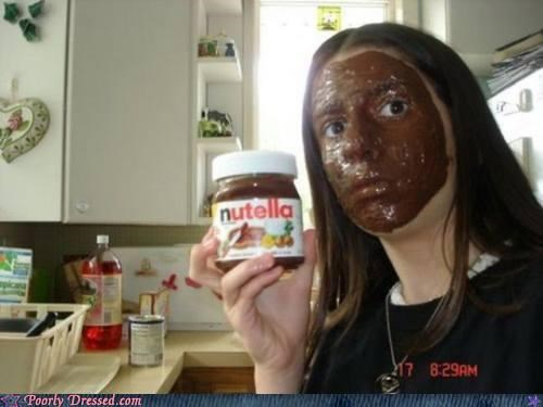 blackface facial nutella - 4703129344
