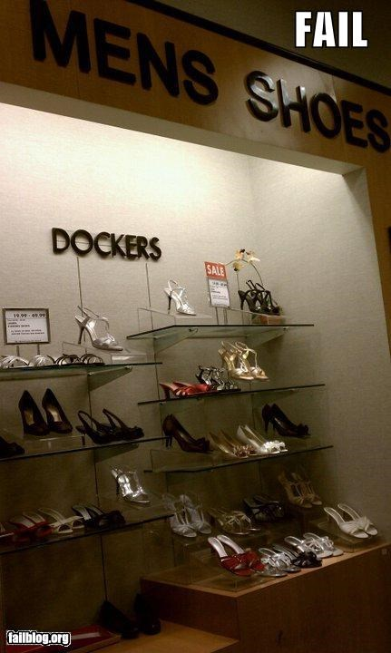 display,failboat,gender bender,g rated,high heels,mens,shoes,sign