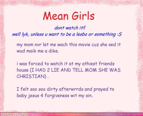 funny mean girls Movie wtf - 4703226880