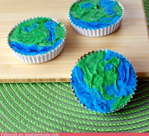 blue continents earth epicute green land peanut butter cups planet water - 4703257856