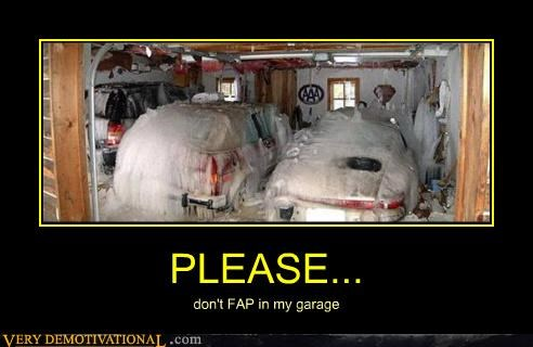 fap garage hilarious white - 4703322112