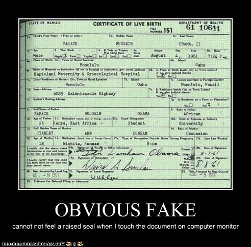 barack obama birth certificate political pictures - 4703428352