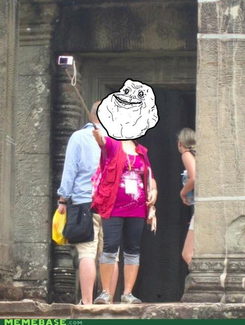 camera,China,forever alone,IRL,stick,tourism