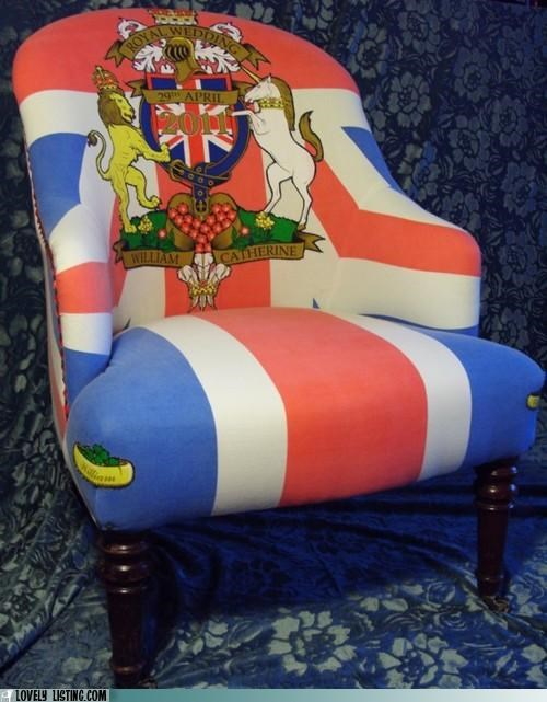 chair,royal wedding