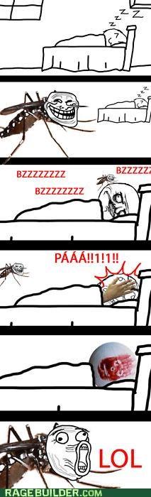 mosquito Rage Comics troll wilson - 4703753472