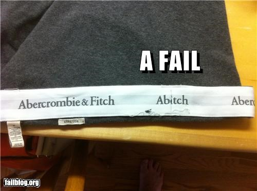 clothes failboat g rated stitiching underwear - 4704476928