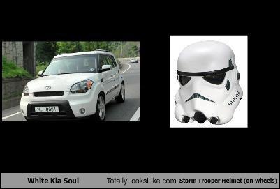 cars,helmet,kia,kia soul,star wars,stormtrooper