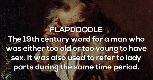 Funny sexual insults of yore, history, words.