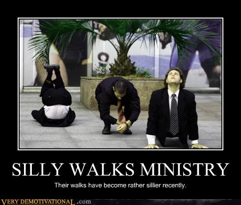 ministry of silly walks,monty python