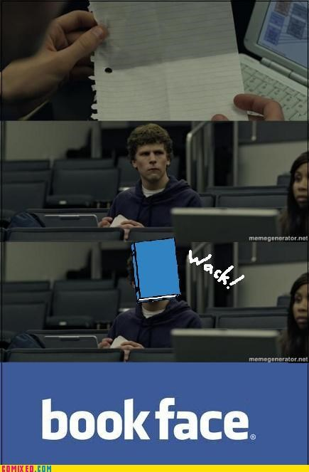 book,facebook,From the Movies,social network