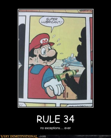 RULE 34 no exceptions.... ever