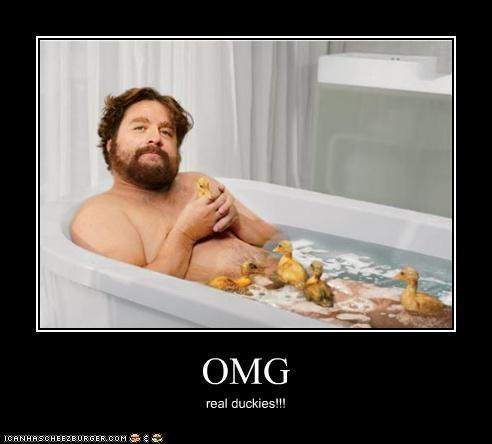 OMG real duckies!!!