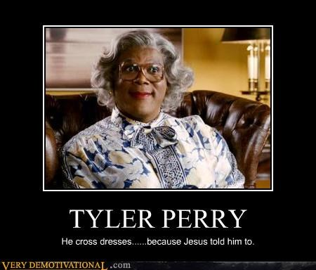 cross dressing jesus tyler perry