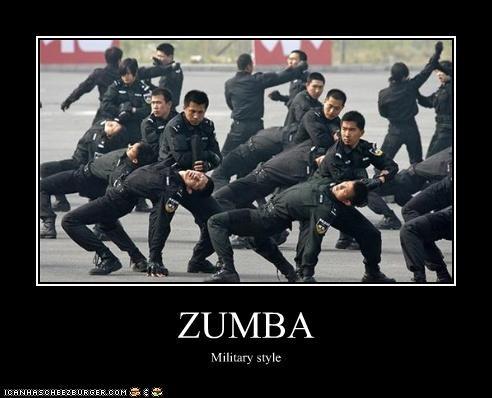 ZUMBA Military style
