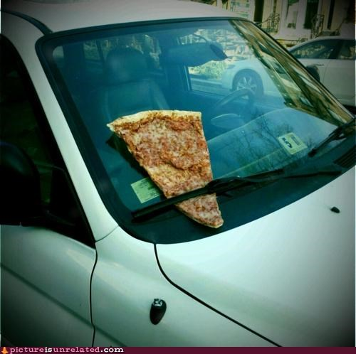 car pizza ticket wtf - 4706384640