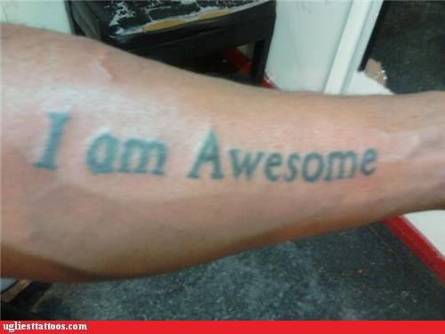 text awesome tattoos funny - 4706471936