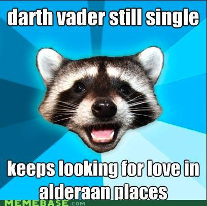 alderaan darth vader galaxy Lame Pun Coon love star wars - 4706890240