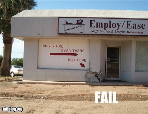 drive thru driving failboat g rated signs - 4706898176