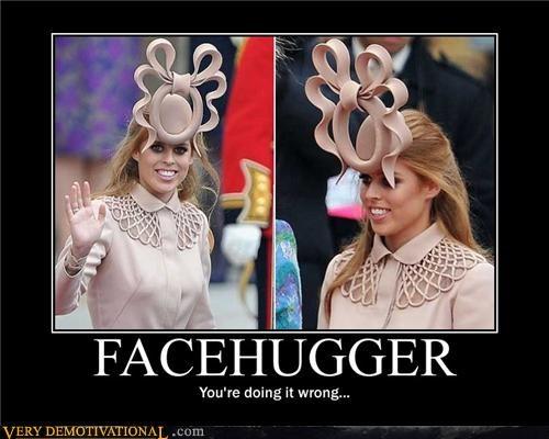 eww hat royal wedding wtf - 4707223808