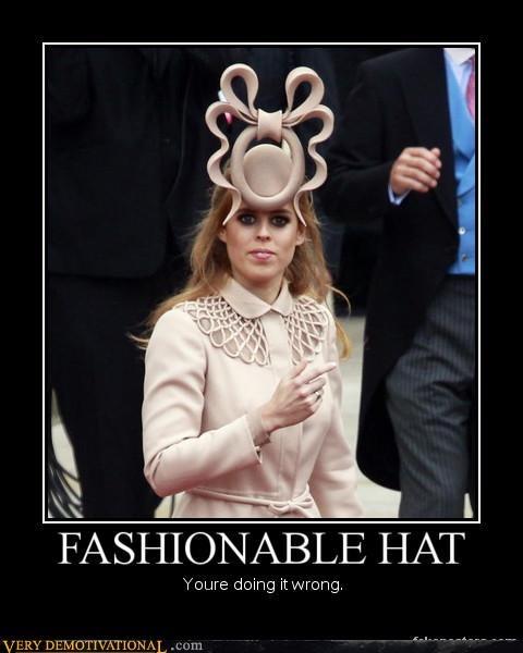 hat royal wedding Terrifying wtf - 4707412480