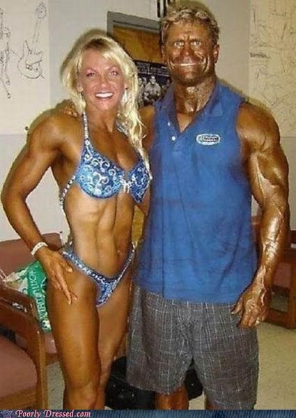 bodybuilding,horrible tans,tanning