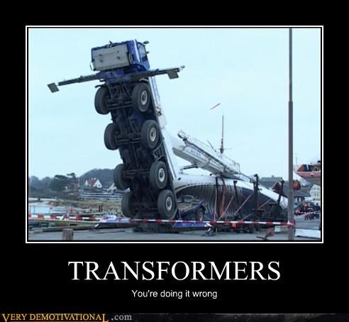 Pure Awesome transformers truck wrong wtf - 4707655936