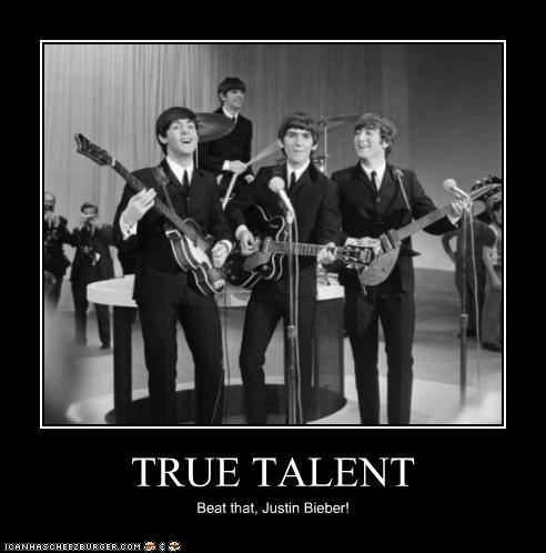 TRUE TALENT Beat that, Justin Bieber!