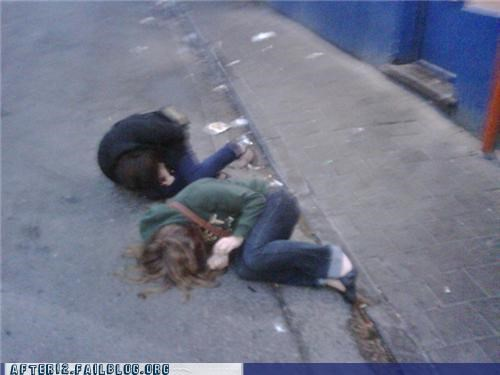 comfy passed out sidewalk - 4707847936