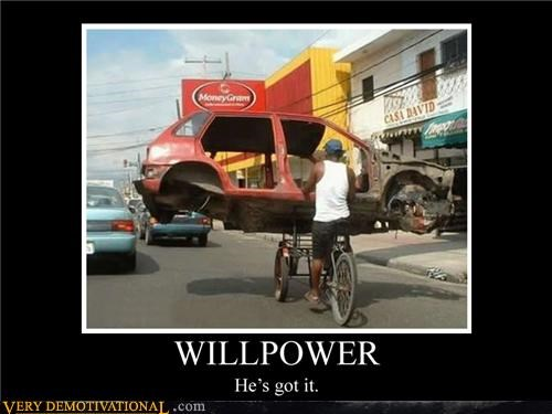 bike car willpower wtf - 4707920896