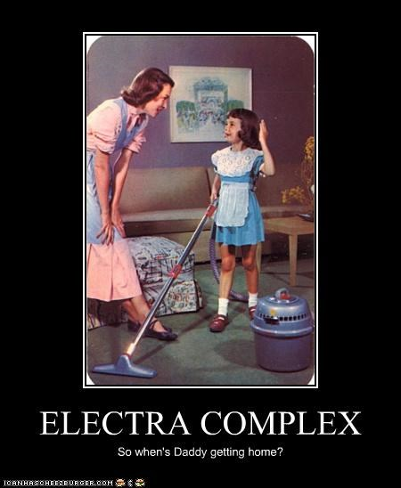 ELECTRA COMPLEX So when's Daddy getting home?