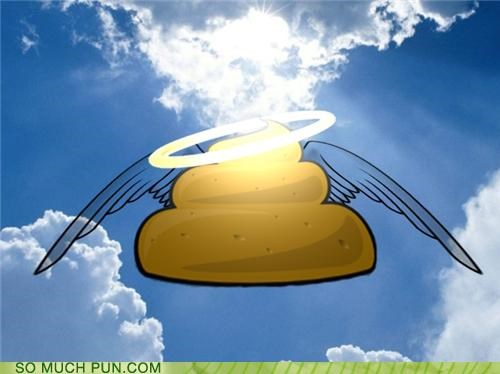 angel archangel crap exclamation halo holy literalism wings - 4708404736