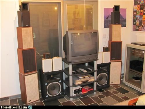 Music,overkill,speakers,stereo