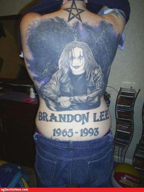 back pieces celeb I see dead people In Loving Memory names numbers portraits - 4708780544