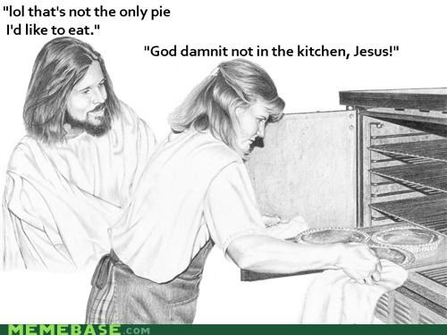 cooking,girls,kitchen,LOL Jesus,pie