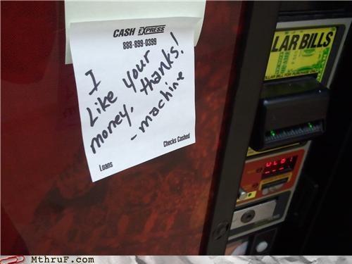 money vending machine - 4709387520