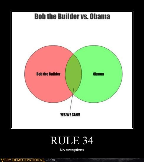 bob the builder,obama,Rule 34,yes we can