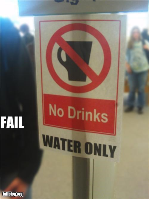 category,contradiction,drinks,failboat,oddly specific,signs,water